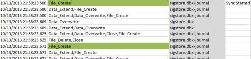 File Sync Begins